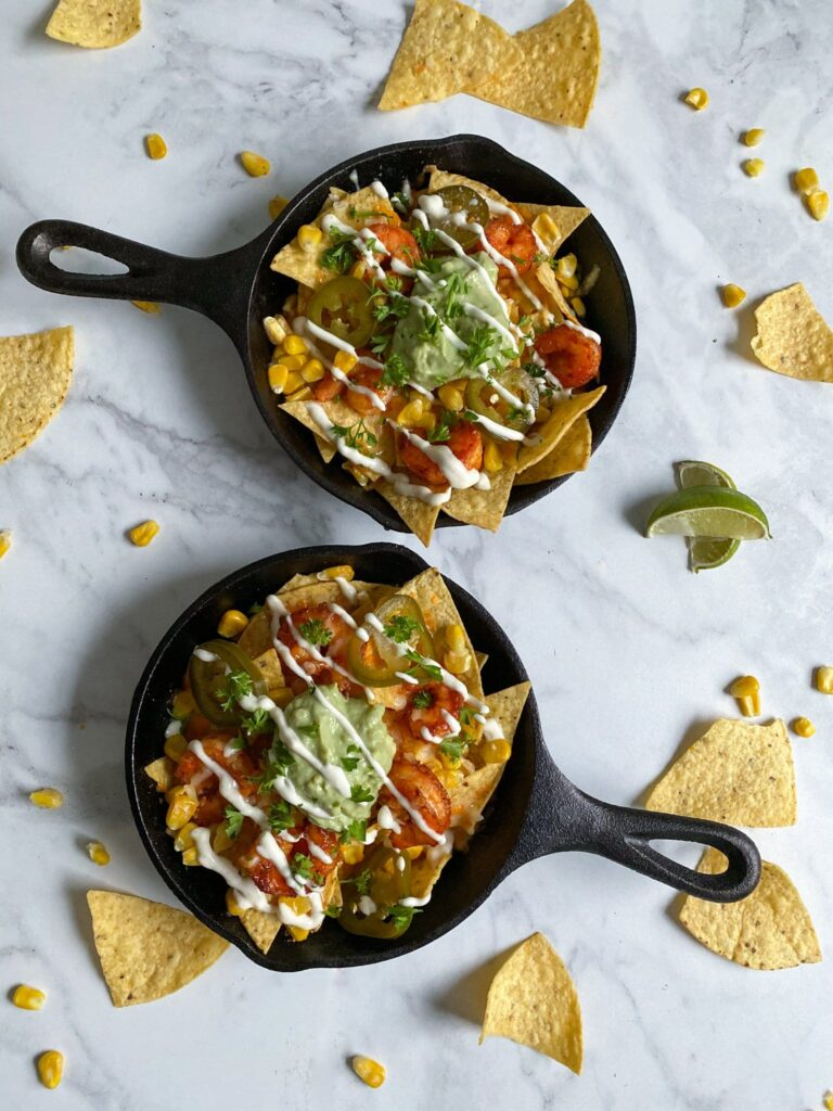 Amazing Shrimp and Honey Nachos