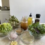 Asparagus End Soup Mise en Place