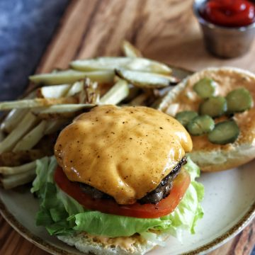 at home fast food burgers